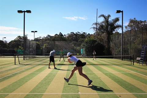 The Willis Recreation and Sports Centre - Tennis Court